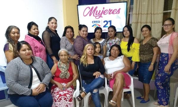 CREO Huaquillas conforma su nueva directiva del Frente de Mujeres para fortalecer la estructura de El Oro