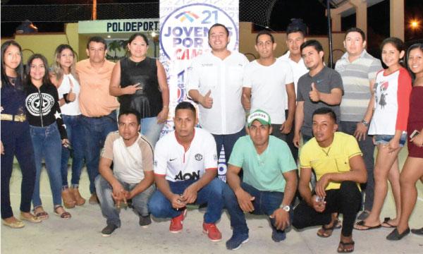 Jóvenes CREO en la provincia de El Oro continúan con su tarea de trabajo y fortalecimiento territorial