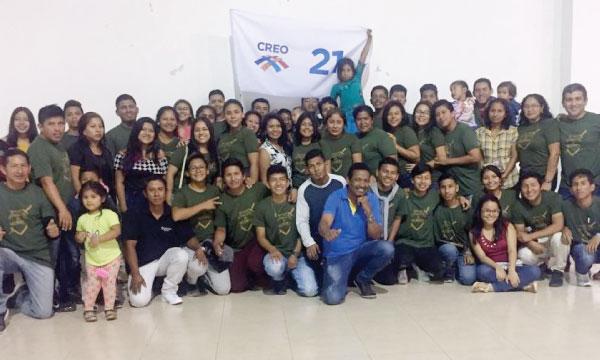 En La Libertad el Frente de Jóvenes CREO construye el futuro de las estructuras provinciales