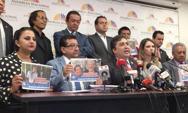 CREO inicia proceso de Juicio Político contra Canciller Correista