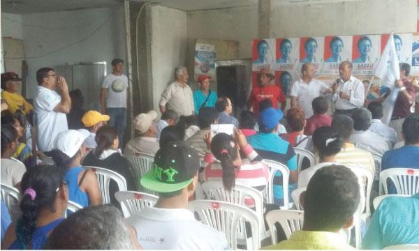 CREO Guayas continúa con su trabajo territorial fortaleciendo las bases del Cantón Jujan