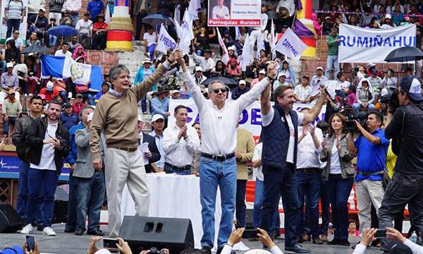 Desde Pichincha CREO da la bienvenida a líderes sociales y ciudadanos en evento masivo