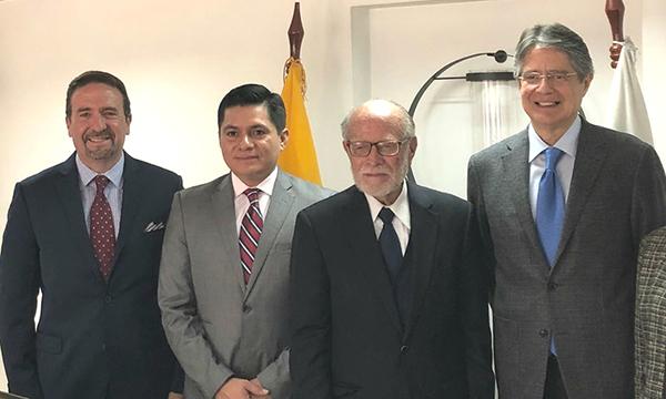 Lasso y JC Trujillo dialogan sobre la necesidad de generar un cambio en el CNE para fortalecer la Democracia