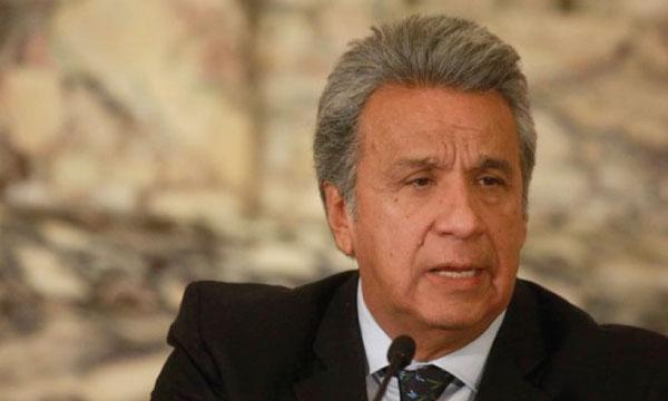 Moreno mantiene su línea de indefinición con respecto al terrorismo de Estado a manos de Maduro