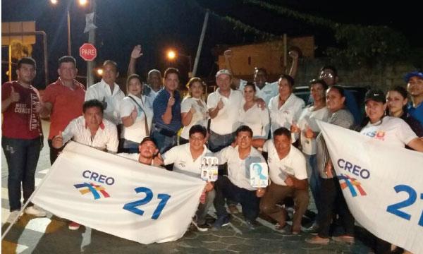 En Lomas de Sargentillo CREO renueva su Directiva Cantonal y continúa su trabajo territorial