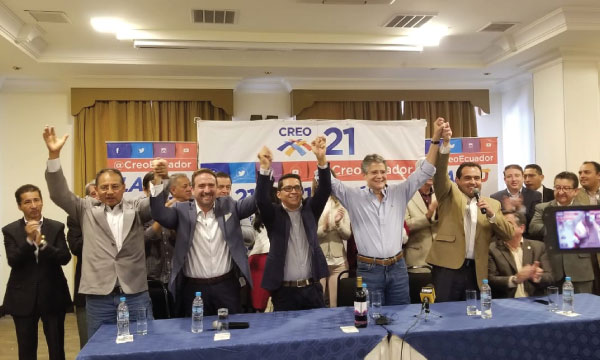 Asambleísta Henry Moreno de Pastaza se une a CREO para fortalecer el proceso de cambio