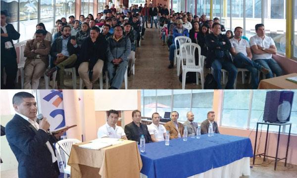 CREO Azuay continúa con su trabajo territorial posesionando sus directivas parroquiales del cantón Paute