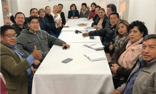 La Directiva Cantonal de CREO Rumiñahui continúa su trabajo de preparación para las elecciones seccionales
