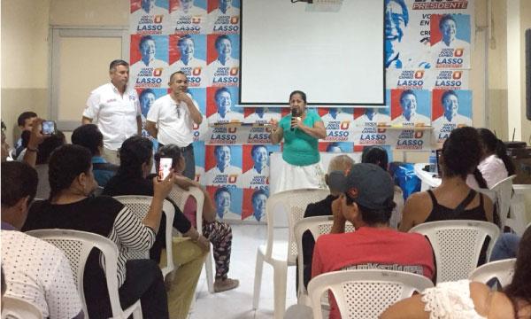 CREO Samborondón su une al trabajo territorial con sus bases para fortalecer la estructura del Guayas