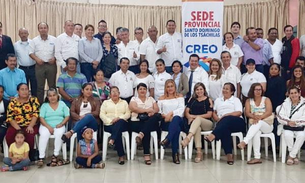 CREO Santo Domingo acelera el trabajo territorial de su Directiva Provincial frente al 2019