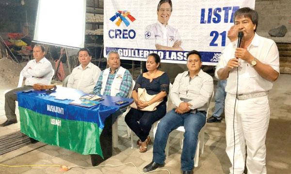 CREO Sucumbíos continúa su trabajo de fortalecimiento territorial con sus bases