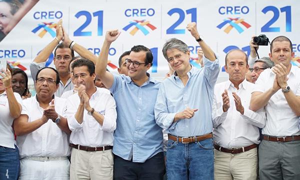 Asambleista Héctor Yépez se une a CREO para fortalecer el proceso de cambio nacional