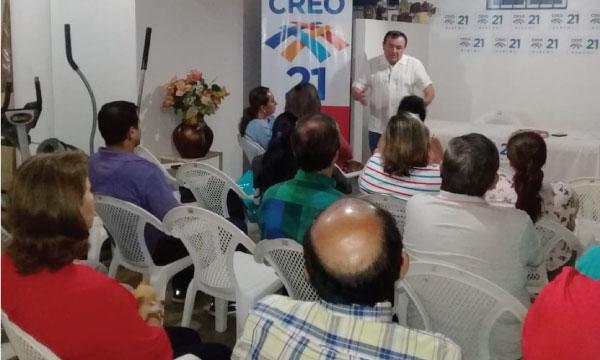 CREO Zaruma se suma al trabajo territorial en El Oro para fortalecer las bases de la provincia