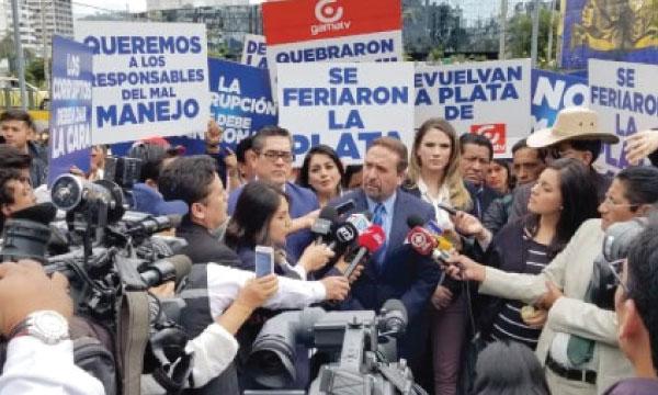 Para el 2 de Julio se solicita a la Fiscalía la comparecencia de Correa por el atraco a los medios incautado