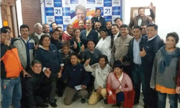 CREO Cotopaxi acelera el trabajo de coordinación territorial de su dirigencia para el 2019