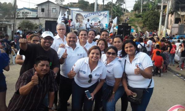 Desde el Distrito dos de Guayaquil la estructura de CREO ejecuta actividad política territorial