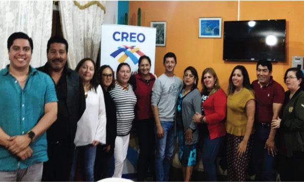CREO Galápagos trabaja desde Santa Cruz para coordinar acciones con miras al 2019