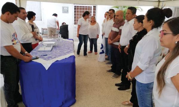 CREO Manabí consolida su estructura y posesiona su nueva directiva parroquial del cantón Sucre