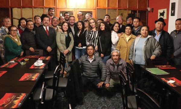 Gira nacional de CREO continúa con la directiva del movimiento desde la provincia de Cotopaxi