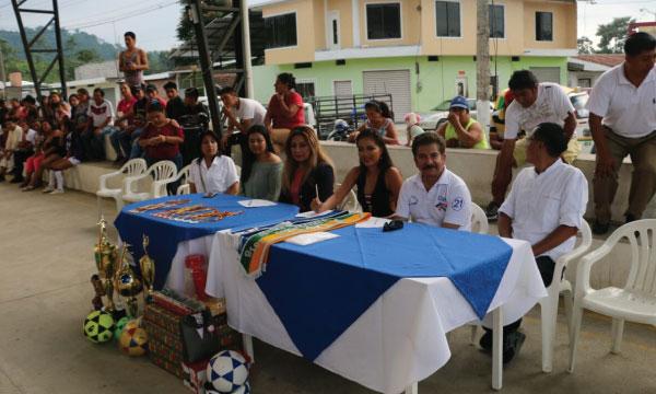 CREO Cumandá cumple con su agenda deportiva y responsabilidad social en el cantón de Chimborazo