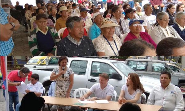 CREO Pichincha fortalece su estructura y posesiona su nueva directiva parroquial de Cumbayá