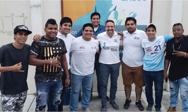 En Durán el frente de Jóvenes CREO promueve en su acción política la lucha contra las drogas
