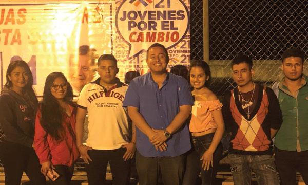 En El Tigre CREO Las Lajas posesiona a su nueva directiva de jóvenes para fortalecer la provincia de El Oro