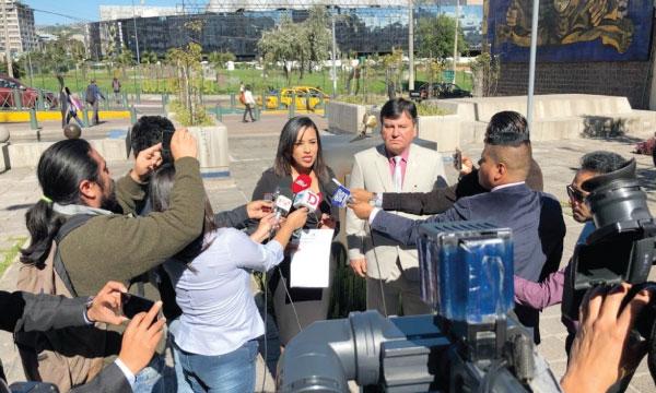 Asambleístas de CREO presentan denuncia ante Fiscalía por irregularidades en Hidroeléctrica