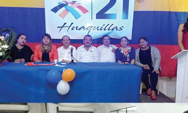 El Frente de Jóvenes de Huaquillas presente en el fortalecimiento territorial de El Oro