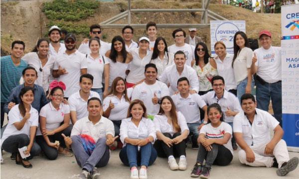 Jóvenes CREO continúa con su trabajo político y social en los sectores populares de Guayaquil