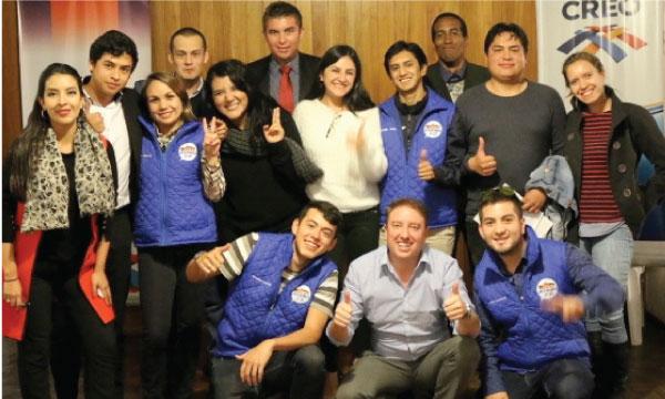 En Pichincha la Directiva del Frente de Jóvenes CREO coordina su trabajo político territorial