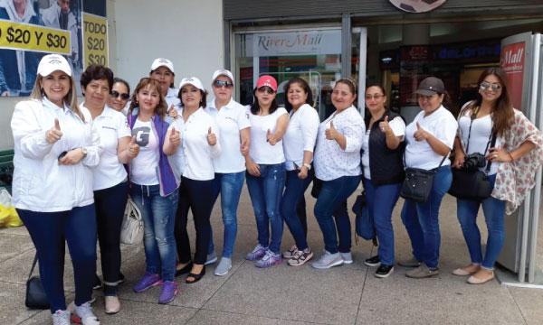 Frente de Mujeres CREO del Cantón Rumiñahui activas en acción social por el Día del Niño
