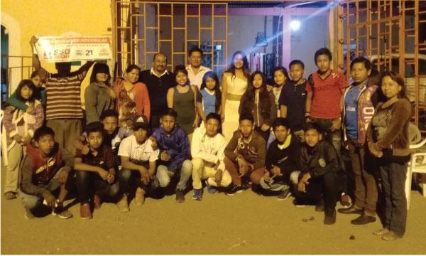 Frente de Jóvenes de la Comunidad de Pechiche fortalecen el trabajo territorial de Santa Elena