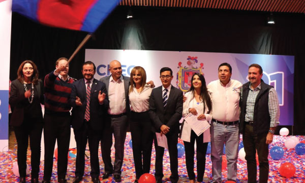 CREO Pichincha posesiona a su Directiva Cantonal de Quito y continúa su fortalecimiento territorial