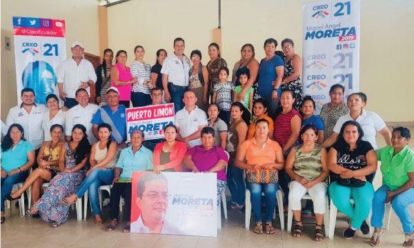 CREO Santo Domingo fortalece su trabajo territorial y se prepara para las elecciones seccionales