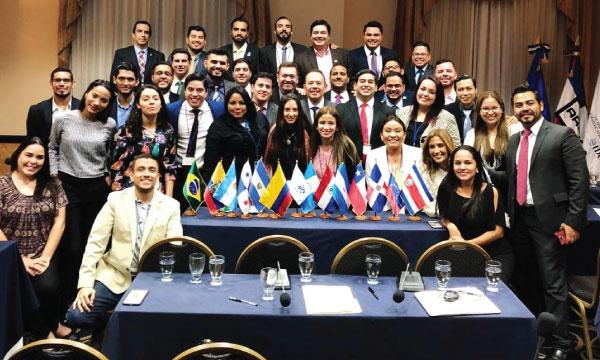 CREO presente en el encuentro internacional de jóvenes de los Partidos Latinoamericanos