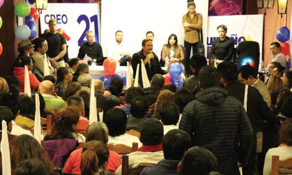 Desde la Ronda en Quito CREO continúa su trabajo de fortalecimiento territorial con las bases