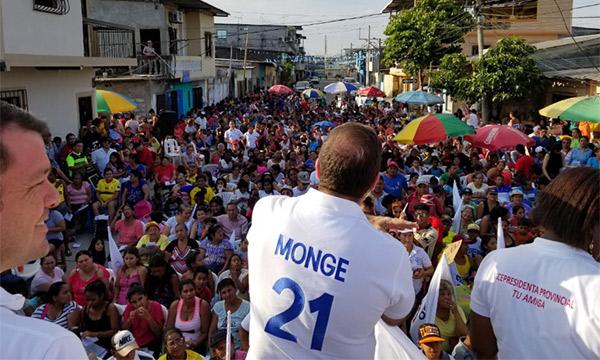 Desde Las Malvinas en Guayaquil CREO acelera y fortalece su trabajo territorial de base