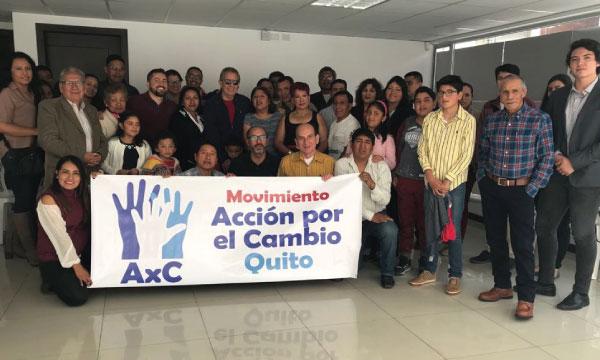 En Pichincha CREO une esfuerzos con el Movimiento Ciudadano Acción por el Cambio para fortalecer el trabajo territorial