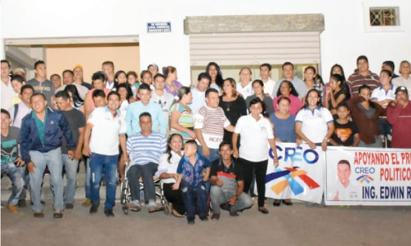 CREO Arenillas continúa con su trabajo territorial y fortalece su estructura con miras al 2019
