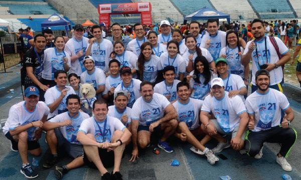 Jóvenes CREO cumple su jornada deportiva desde Guayaquil en los 10K de Diario Expreso