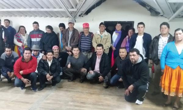 CREO da la bienvenida a su nueva Directiva Parroquial del cantón Chordeleg en Azuay