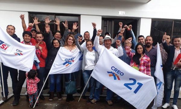 La dirigencia parroquial de CREO en Cuenca trabaja en su planificación electoral del próximo semestre