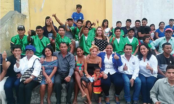CREO Esmeraldas trabaja en San José de Chamanga para fortalecer su estructura en Muisne