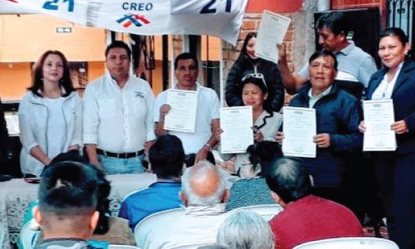 CREO Pichincha posesiona a su nueva Directiva Parroquial de Guangopolo y fortalece su estructura