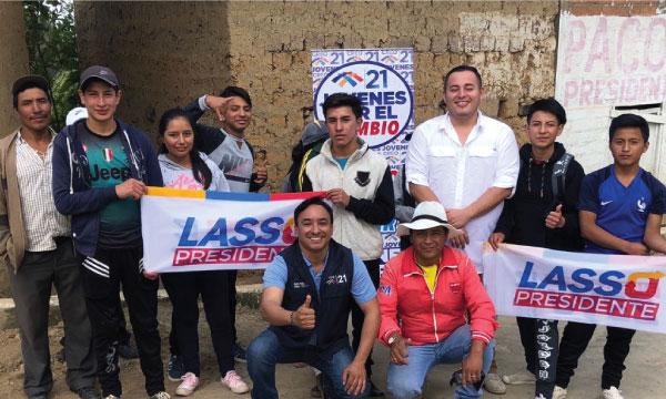 CREO El Oro se fortalece y posesiona a su nueva directiva del Frente de Jóvenes en el Cantón Chilla