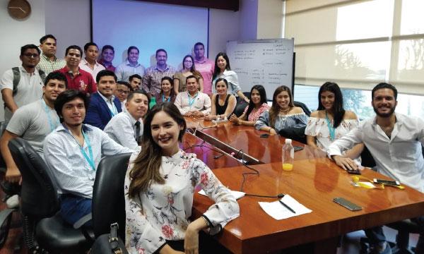 La Directiva del Frente de Jóvenes CREO planifica su trabajo político en los cantones de Guayas
