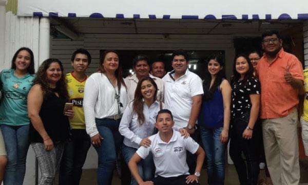 En Lomas de Sargentillo CREO estructura directiva del Frente de Jóvenes para fortalecer Guayas