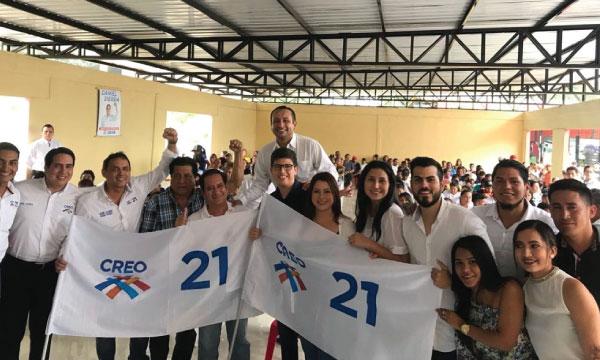 CREO Los Ríos llega a Ventanas para fortalecer su trabajo territorial en la Parroquial Zapotal