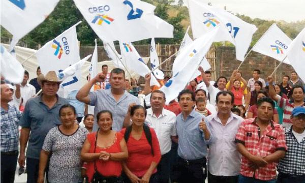 En Paján el Movimiento CREO acelera su trabajo territorial para fortalecer las bases territoriales